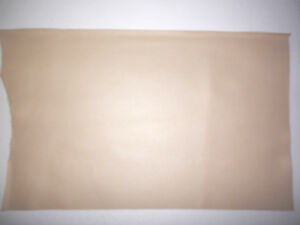 """Beige / Taupe Cowhide Split Leather Scraps 12""""x19"""" avg 1.1mm thick #5613"""