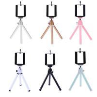 Universal Mini Flexible Camera Phone Tripod Stand Holder+Clip for phone Camera