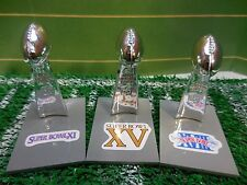 Oakland/L.A. Raiders Mini Lombardi Trophy Set Mcfarlane/Pocket Pro