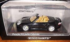 Minichamps 1/43 Porsche 911 Turbo Cabriolet 2003 green metallic