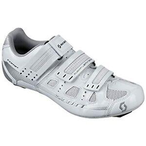 Scott Road Comp Lady Women's Cycling Shoes, White