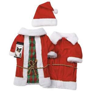 Radiant Tartan Vintage Santa Set