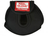 Rod Glove Reel Glove Large Black Casting Reel Cover for Freshwater and Saltwater