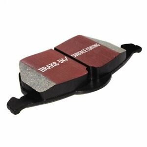 EBC Ultimax Brake Pad Set DP0817 fits MG MGF 1,8 i VVC, 1.8 i 16V, 1.8 i VVC