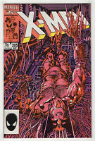 Uncanny X-Men #205 (May 1986) [Lady Deathstrike, Spiral] Barry Windsor-Smith X/j