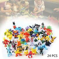 24PCS Wholesale Lots Cute Pokemon Mini Random Pearl Figures New Hot Kids Toy XX