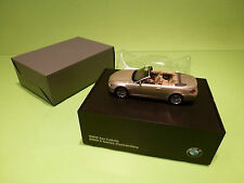 KYOSHO BMW 6 SERIES CONVERTIBLE - E64 - CHAMPAGNE 1:43 - NEAR MINT IN BOX