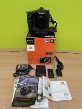 Sony Alpha SLT-A77 Camera With Grip 75-300mm Lens  & Sony Flash