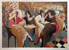 """ISAAC MAIMON """"LE BISTRO CAFE"""" 1994 