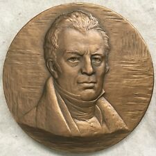 James Kent Hall of Fame for Great Americans Medal, 1968 by Eleanor Platt