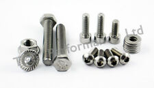 Honda CBR929RR Fireblade Stainless Chain Guard & Adjusters Bolts Kit
