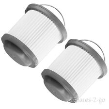 Pleated Mains Filter for BLACK & DECKER Handheld Dustbuster Vacuum Cleaner x 2