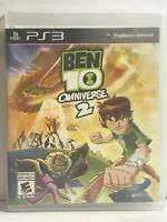 Ben 10 Omniverse 2 (Sony PlayStation 3, 2013) Rare! Excellent Disc, No manual