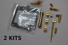 2x Yamaha 80-82 XS400 Carburetor Carb Rebuild Kit - 2 KITS