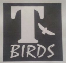 T BIRDS GREASE A5  IRON ON T SHIRT TRANSFER