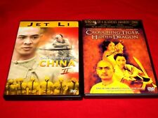 Once Upon a Time in China 2 / Crouching Tiger,Hidden Dragon (DVD) Very Good