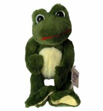 """Ganz Perfect Pals Froggy Pals Plush Toy With Tags 1999 Vintage 12"""" No Baby NWT"""