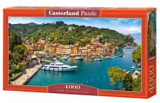Puzzle Castor 4000 - View of Portofino, Widok na Portofino