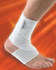Vulkan Ankle Wrap 7310 PAIR OFFER Elasticated Sprain Support Brace Strap Guard