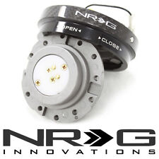 NRG Thin Slim Steering Wheel Quick Release Hub - Carbon Fiber - Short Version