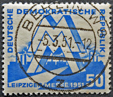 ALLEMAGNE RDA - timbre Yvert et Teliier n°35 obl - stamp Germany (cyn4) (B)