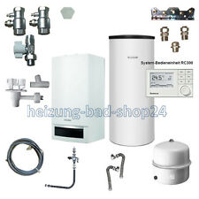 Buderus GAS VAILLANT dispositivo Logamax plus GB 172 24kw con su200w + RC 310 w22