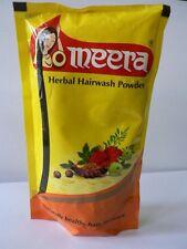 Meera Herbal Hairwash Powder 40gm shikakai, tulsi, vetiver Shampoo paste