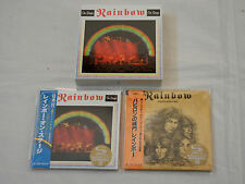 Rainbow JAPAN 2 Deluxe Edition Mini LP 2SHM-CD PROMO On Stage BOX SET
