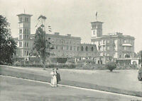 Osborne House Isle Of Wight 1900 Single Sided Antique Print Picture #67