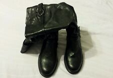 White  Mountain Women Boots Shoes Sz 6.5M Black