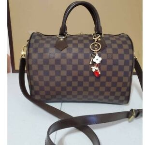 Louis Vuitton Damier Ebene Speedy Bandouliere 30 beautiful condition Inever wore