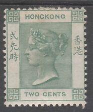 HONG KONG 1900 QV 2C