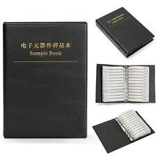 8500pcs 170 Values 0603 1% SMD Chip Resistor Assortment Kit Sample In All Black