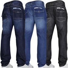 DENIM AND DYE New Mens Jeans Straight Leg Pants Waist Gift Sale Xmas Sizes