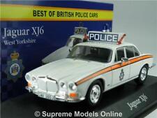 JAGUAR XJ6 MODEL CAR POLICE WEST YORKSHIRE 1:43 SCALE CORGI VANGUARDS ATLAS K8