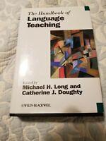 The Handbook of Language Teaching by Michael H. Long (English) Hardcover Book Fr