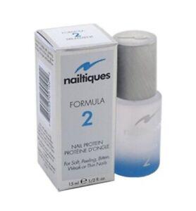 Nailtiques Formula 2 Nail Protein 0.5 oz/15ml