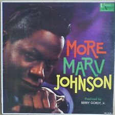 MARV JOHNSON     MORE MARV JOHNSON    ORIGINAL  US  UNITE ARTISTS LP