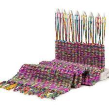 Scarf Knitting Machine Loom Knitter Scarves DIY Knit Tools Wool Best Board H7N0