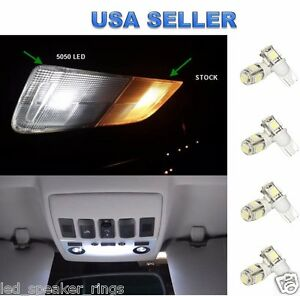 8pc LED Interior Lights Package Kit For Cadillac CTS / CTS V  - 2008-2013
