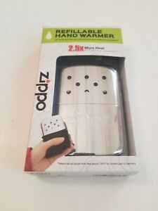 Zippo Refillable Hand Warmer Reusable Use Ronson Fluid Filling Cup Pouch 40323