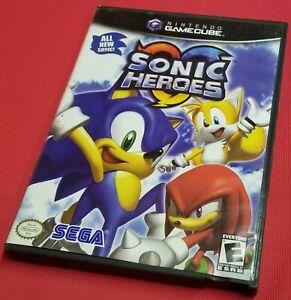 Sonic Heroes (Nintendo GameCube, 2004) Video Game