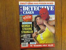 "Dec-1984  ""Detective  Cases"" Magazine(CARLTON  GARY/VICTOR  CURTIS/THOMAS  DAHN)"