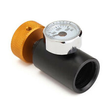 New~Aluminum Pressure On/Off Adapter & 1500PSI Gauge For Fill Soda Stream Water*