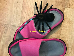 Realistic Black Spider Tarantula Fake/Prank/Halloween~Extra Lrg Sz  4.50 x 7.5