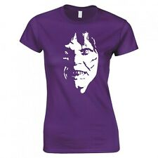 """INSPIRED BY THE EXORCIST """"DEMON FACE"""" SKINNY FIT T-SHIRT"""