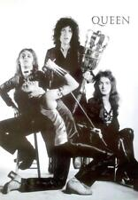 QUEEN POSTER BANDPICTURE H S/W