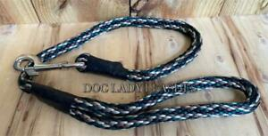 """TRAFFIC/SHORT LEASH-DOGS UP TO 120 LBS-1/2"""" ROPE X 32""""  CAMO-NEW- (503)"""
