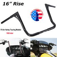 "1 1//4/"" BBlack 14/"" Diablo Handlebar CKit 1996-2006 Harley Electra Glide wRadio"