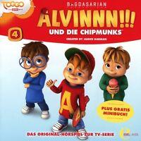 ALVINNN!!! UND DIE CHIPMUNKS - (4)ORIGINAL HÖRSPIEL -DER FAMILIENTAG   CD NEU